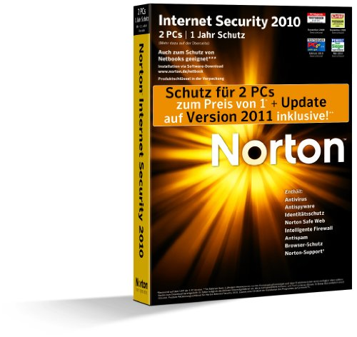 Norton Internet Security 2010 - 2 PC - deutsch [import allemand]