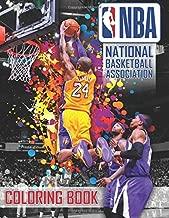 NBA National Basketball Association Coloring Book: 37 Exclusive Illustrations