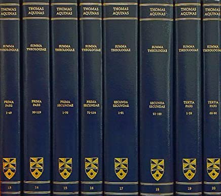 Summa Theologiae: Complete Set by Saint Thomas Aquinas(2012-12-12)