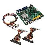 SM SunniMix Conector de Extensión de Cable de Arnés con Plantilla de Transferencia de Juego de Arcade - Estilo 2 Multicolor