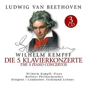 Beethoven: 5 Klavierkonzerte / 5 Piano Concertos