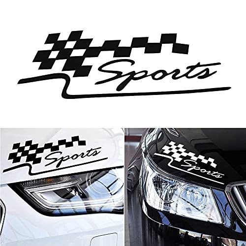 A/X 29 * 10CM 1Pcs Decal Racing Sports Flag Set Car Stickers Auto Motorcycle Vinyl Sticker Car Styling