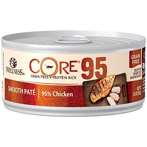 Wellness CORE 95% Chicken Smooth Pate wet cat food