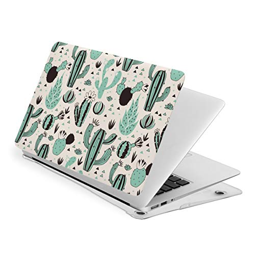 Green Cactus MacBook New Air 13 inch Case (A1932 & A2179) Laptop Cover Hard Shell Protective Case