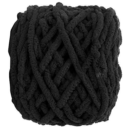 Bediffer Ovillo de lana de terileno suave ligero con peso ideal para manualidades de bricolaje para...