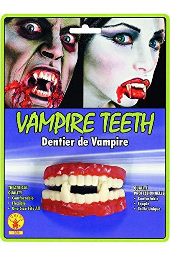 Generique - Dentier Vampire en Caoutchouc