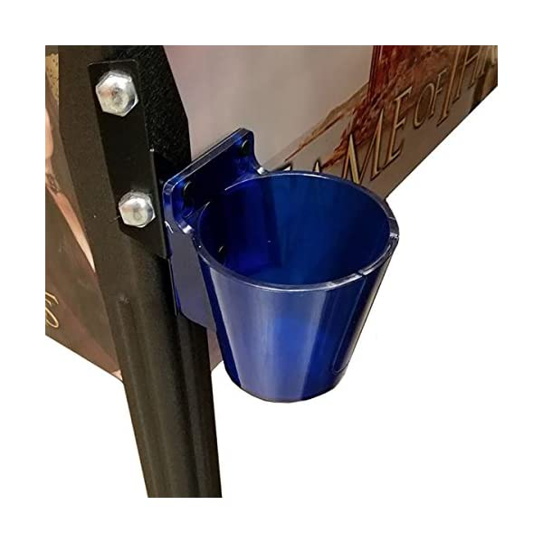pingulp pinball beverage caddy premium right-translucent blue