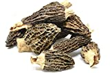 Slofoodgroup Dried Morel Mushrooms (Morchella Conica) Gourmet Morel Mushrooms (1oz morels)