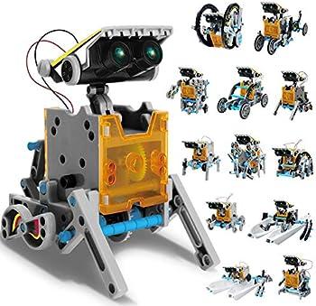 Aokesi 12-in-1 Science STEM Robot Kit