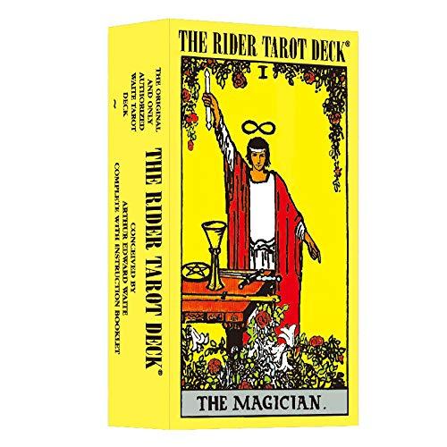 IXIGER Tarot for Beginners: Tarot Cards Original Waite Tarot Deck Classic Tarot Cards Deck Travel Tarot Card Power Deck with Guide Booklet 78 Tarot Cards for Beginners