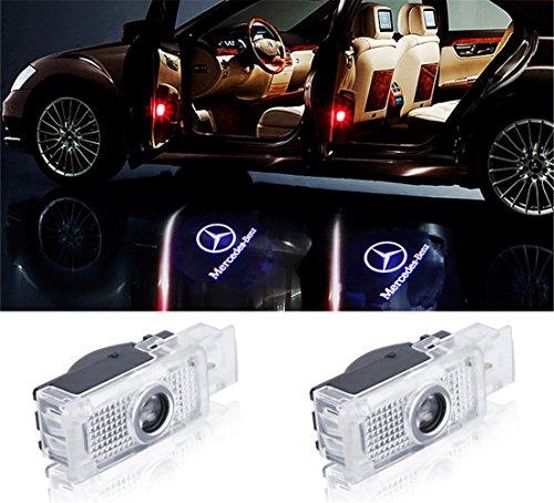 WFB Einstiegsbeleuchtung Laser Projektor Logo Licht für CLS CLA (2Stk)