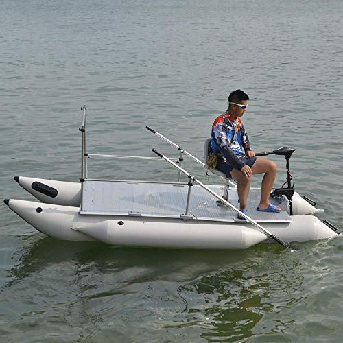 New Heavy-Duty for Two 12.5ft Inflatable Pontoon Boat