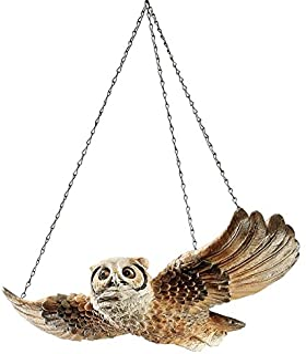 The Garden Owl Hanging Sculpture [Kitchen]