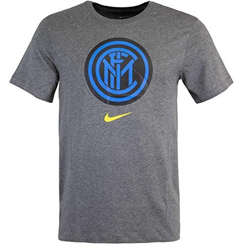 Nike Inter Milan - Maglietta da uomo, taglia M, colore: carbone