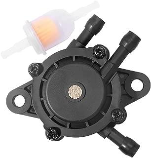 Anxingo Fuel Pump with Fuel Filter for John Deere LA105 LA115 LA120 LA125 LA130 LA135 LA140 LA145 LA150 LA155 LA165 LA175 D155 D125 D105 D170 D160 D150 D140 D130 D120 D110 D100 Lawn Tractor