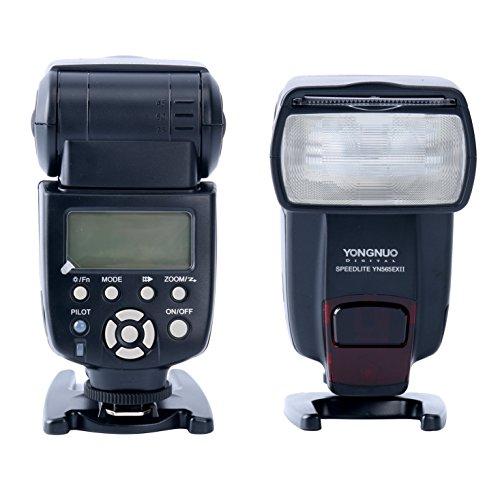 Yongnuo YN565EX II - Flash con Zapata para cámaras DSLR Canon (TTL II, 5600º K, IGBT), Color Negro