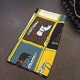 ZAMi Bufanda Cuadrada pequeña Moda de Primavera y otoño Bufanda de Invierno Bufanda pequeña de Mujer Bufanda Decorativa-Pony-Mostaza Amarillo