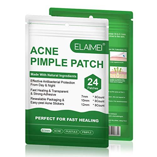 Acne Patches, 24PCS Face Acne Scar Remover Tool Face Care Acne Pimple Master Patch Pimples Sticker Zit Patches Blackhead Acne Paste Fläckar Och Acne Spot Dots