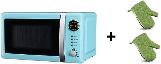 ElectrodomesticosN1 Pack Microondas Jocel JMO001306, 20 Litros, Azul, 800 w + juego 2 manoplas
