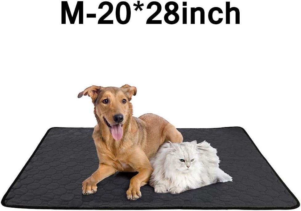 Alfombrillas para Mascotas Reutilizables Altamente absorbentes para Perros PopHMN Almohadillas de Entrenamiento Lavables para Mascotas Almohadillas Impermeables para Entrenamiento de Cachorros