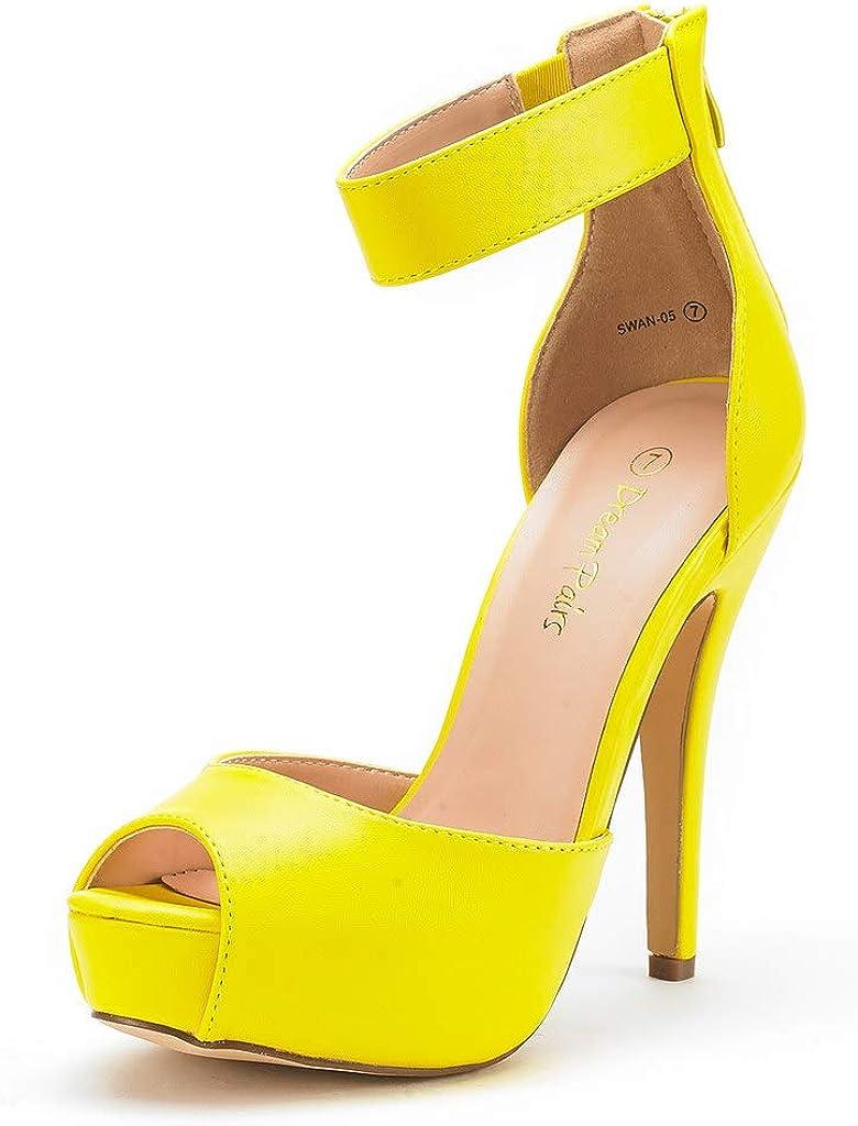 DREAM PAIRS Women's Philadelphia Mall Swan-05 High Dress Plaform Free shipping on posting reviews Shoes Pump Heel
