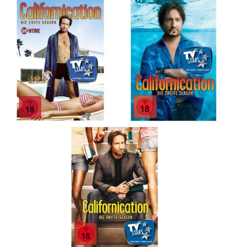 Californication - Season 1-3 Set deutsch [6 DVDs]