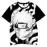 Tsyllyp Cartoon Shirt for Kids Boys Girls 3D Print Short Sleeve T-Shirt