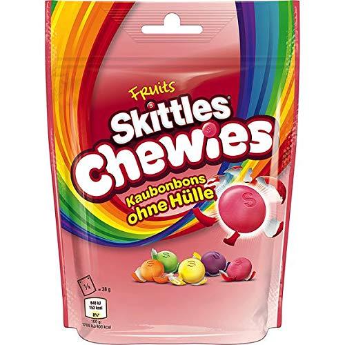 Skittles Fruits Chewies Kaubonbons ohne Hülle 6 x 152g
