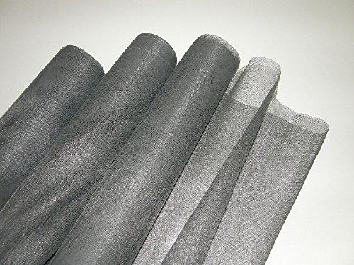 Fliegengitter Gewebe Gaze Meterware 120cmx 100cm schwarz oder grau Insektenschutz-Fliegengitter (120cm x 100cm, schwarz)