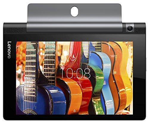 Lenovo ZA090007DE Yoga Tablet 3 con Display da 8', Processore Qualcomm Snapdragon APQ8009 da 1.3 GHz, 16 GB, Fotocamera Posteriore da 8 MP, Android 5.1, Nero
