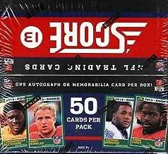 2013 Score Jumbo Football Factory Sealed Hobby Box