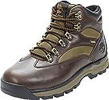 Timberland Men's Hiker Boots, Brown Dark Brown Full Grain, Womens 10
