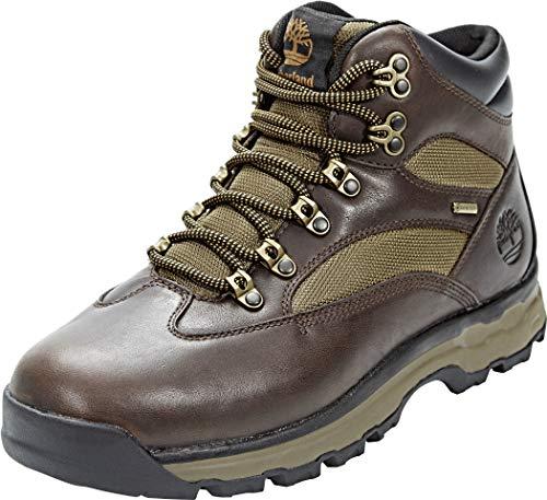 Timberland Chocorua Trail Gore-Tex Waterproof, Zapatillas Chukka para Hombre, Marrón (Dark Brown/Green A66), 41.5 EU