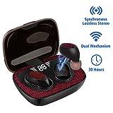 Truly Wireless Earbuds for Sport, twsWirelessBluetoothEarphones In-ear Headphones with Lossless HiFi Stereo, Deep