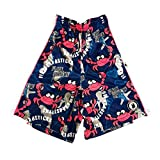 Flow Society Boys' Big Crabstick Shorts, Blue, Medium