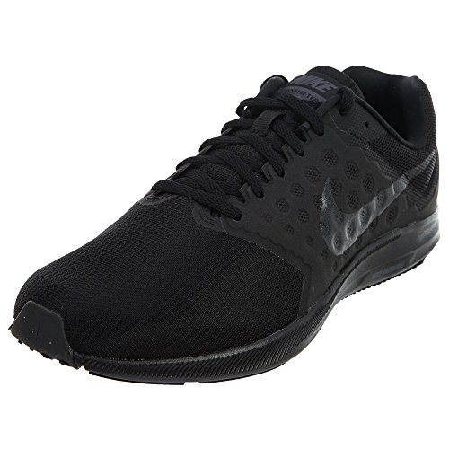 Nike Men's Downshifter 7 Running Shoe, Black/Metallic Hematite/Anthracite, 7.5 Wide US
