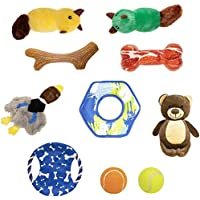 10-Pack IOEN Durable Dog Chew Toys
