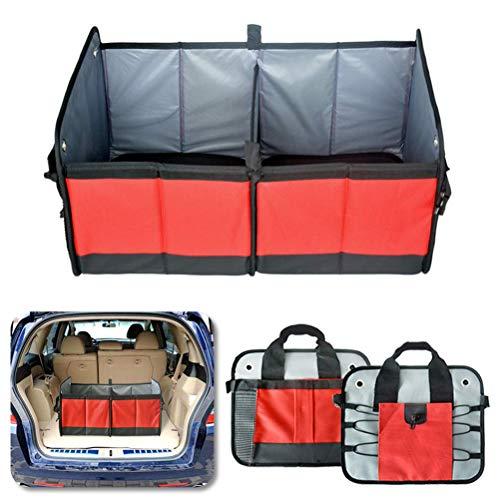 GYC Portable Home Office Trunk Organizer - Zusammenklappbarer Auto-Organizer Alle Arten von Fahrzeugen - Fahrzeuglagerung & Auto-Kofferraum-Box Auto Home Use