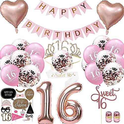 Anyingkai 16 Anni Compleanno Ragazza,Corona 16 Anni...