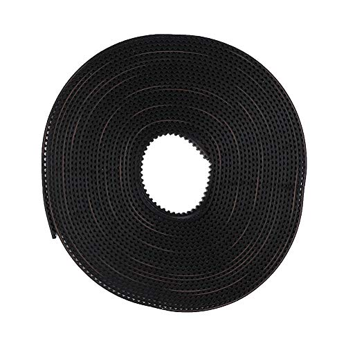 Annadue Timing Belt, Toothed Pulley with 20 Teeth Rubber Synchronous Wheel, Durable 3D Printer Kit, for Prusa for MendelMax