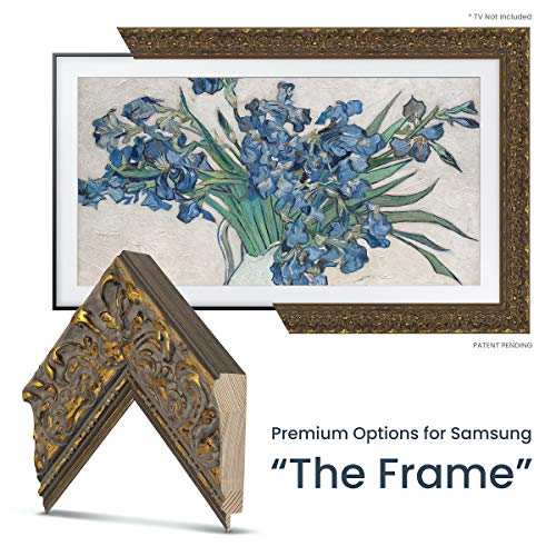 Buy Deco TV Frames - Tuscan Gold Frame Custom for Any Size Samsung The Frame TV (6 Corner Sample)