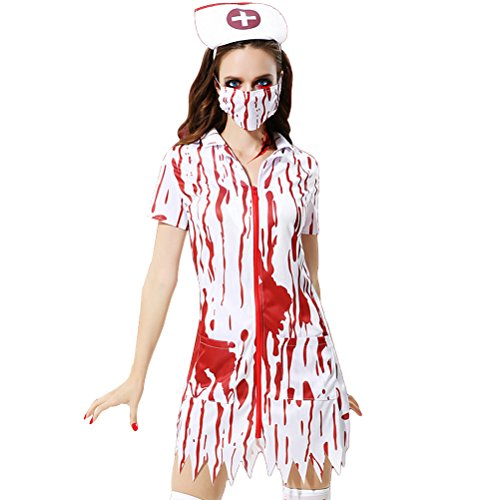 LUOEM Cosplay Halloween Horror...