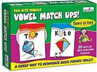 Creative Pre-School - Fun With Phonics-Vowel Match Ups - (CRE0913)