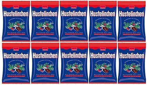 10 Tüten Villosa Hustelinchen Kräuter Bonbons a 150 g (10x150g)