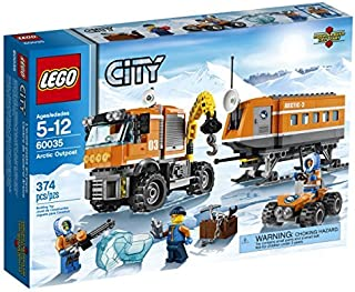 LEGO City Arctic Outpost 60035 Building Toy by LEGO