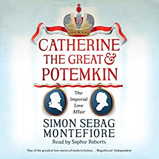 Catherine the Great and Potemkin audiobook cover art