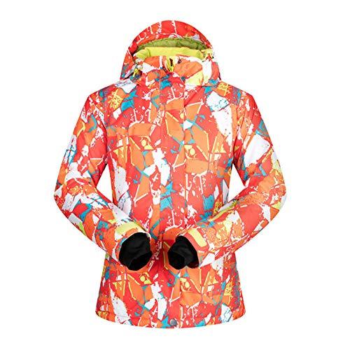 MEOBHI Skipakken Ski-jack dames winter dames ski- en snowboardmantel hete sneeuw winddicht ademend warm snowboardjack