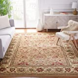 Safavieh Lyndhurst Collection LNH212D Traditional Oriental Non-Shedding Stain Resistant Living Room Bedroom Area Rug, 6' x 9', Beige / Ivory