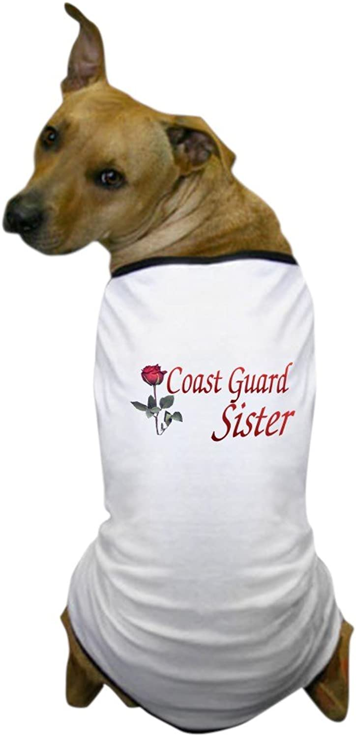 CafePress  coast guard sister Dog TShirt  Dog TShirt, Pet Clothing, Funny Dog Costume
