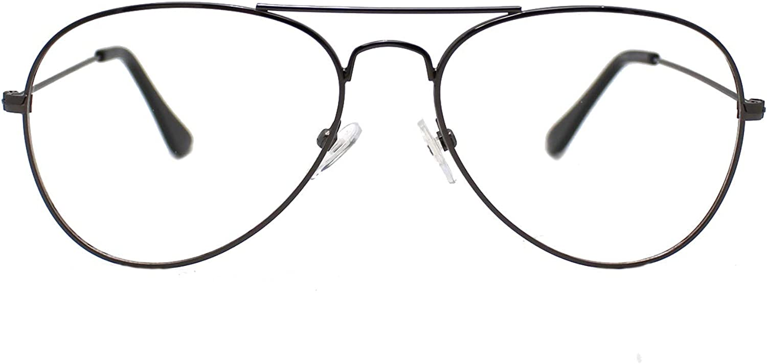 Fashion Women Men Glasses Frame Classic Vintage Eyewear Square Aviator Round Half Eyeglasses